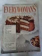 Everywoman's Magazine October's 1953 Issue