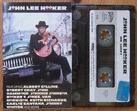 JOHN LEE HOOKER - MR. LUCKY (SILVERSIDE ZK75087) 1991 TURKEY CASSETTE TAPE BLUES
