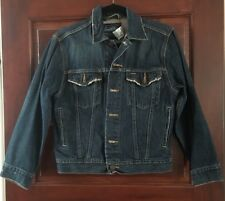 Women's  Levis Strauss Jean Jacket Distressed M - Vintage