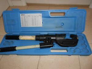 PANDUIT MODEL CT 950  14 TON  ELECTRICAL CRIMPER BURNDY GREENLEE HUSKIE CRIMPER