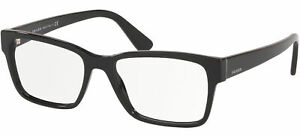 Prada PR 15VV Black 55/17/145 men Eyewear Frame
