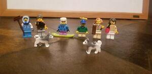 LEGO City: Advent Calendar 2019 (60235) Lot of 6 Minifigures