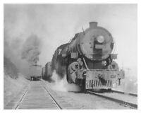 Lehigh Valley Railroad LVRR 308 Steam Engine Quakake PA 8x10 Silver Halide Photo