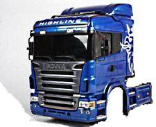 Tamiya 1:14 Cabine Jeu de pièces Scania R620 non peint système modulaire 56323
