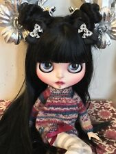 """Custom Factory OOAK Blythe Doll """"Mercedes"""" by Dollypunk21 *FREE SET OF HANDS*"""