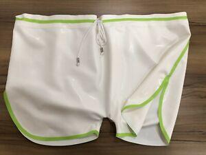 Latexanzug Anzug Rubber Ganzanzug Men's sports shorts Zentai Kostüm S-XXL
