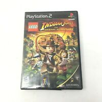 LEGO Indiana Jones The Original Adventures PlayStation 2 PS2 Game Tested