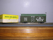 Main Line Models #HR-1  Budweiser Beer 36' Wood Reefer #1802  Built-up H.O. 1/87