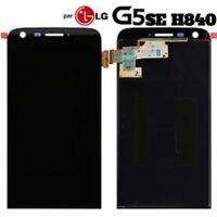 DISPLAY LCD +TOUCH SCREEN per LG G5 SE H840 H850 NERO VETRO SCHERMO RICAMBIO