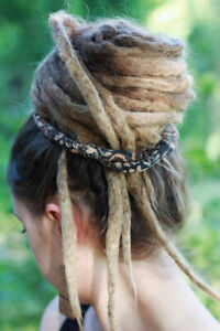 Spiralocks Dreadl Spiral Tie Black Brown Dreadlock Accessory Bendable Hair Tie