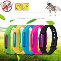 5pcs anti-insectes et insectifuges anti-moustiques bracelet en silicone