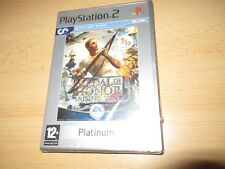 Medal of Honor Rising Sun Sony PlayStation 2 PS2 Game - pal  *NEW & SEALED*