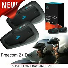 Cardo Scala Rider Freecom 2+ Duo Bluetooth Headset¦Motorcycle Helmet Intercom