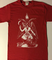 BAPHOMET T Shirt Satan occult SATANIC CLOTHING black metal  S- XL horror gothic
