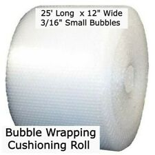 316 Bubble 12 Wide Wrapping Cushioning Roll Padding 25 Ft Perf 12 Pocket
