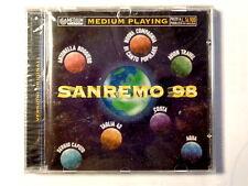 SANREMO 98  -  MEDIUM PLAYING  -  CD 1998  NUOVO E SIGILLATO