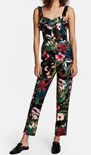 H&M Floral Butterfly Print Jumpsuit One Piece Long Romper Playsuit SZ 8-10 NWOT!