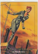 1992 MARVEL MASTERPIECE  #3 BLACK WIDOW  CARD SKYBOX