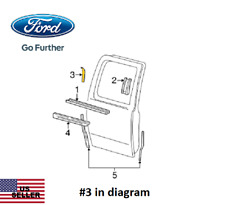 New Ford YL3Z-16254A04-AA Applique- Rear Right Side Exterior Door Window Trim