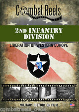 2nd Infantry: Liberation of Western Europe DVD - Organized Archival Film Footage