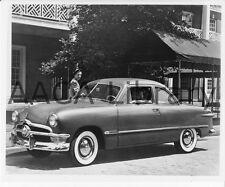 1950 Ford Custom Tudor, Factory Photo (Ref. # 42338)