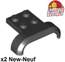 Lego 4x vehicle mudguard garde boue 2x4 Wing aile noir//black 41854 NEUF
