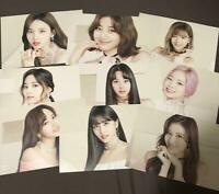 TWICE 2nd Album #TWICE2 Flyer 9 complete set TOWER RECORDS photo card