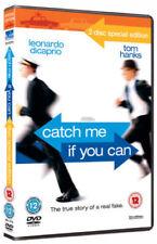 EPIC COMEDY= CATCH ME IF YOU CAN star TOM HANKS LEONARDO DI CAPRIO = VGC CERT 12