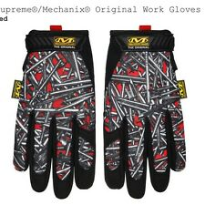SUPREME Mechanix Gloves Nails RED size XL XLarge X-Large
