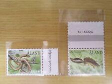 Aland Stamp 2002 MNH Animal Set