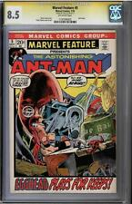 MARVEL FEATURE #5 CGC 8.5 SS STAN LEE SIGNED CGC #1197099005