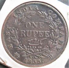 1835 India Rupee ,  nice silver  coin         # 831