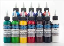 Fusion Ink 12x je 30 ml Tattoofarben SET Tattoo Farbe Tätowierfarbe Tattoo Tinte