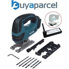 Makita DJV180Z 18v Top Handle Jigsaw LXT De Litio Sin Cable + Adaptador de Carril de guía