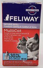 Feliway Multicat - 30 Day Refill - For Ceva Diffuser