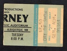 1979 Journey AC/DC Concert Ticket Stub Albuquerque If You Want Blood Bon Scott