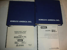 Kobelco K916 K916-II HYD Excavator SHOP MANUAL PARTS OPERATORS Catalog Service