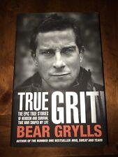 TRUE GRIT , Grylls, Bear   Hardcover Book   BRAND NEW   9780593071052