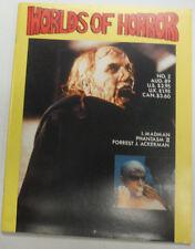 Worlds Of Horror Magazine Madman Phantasm II August 1989 070815R