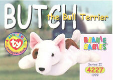Ty Beanie Babies Bboc Card - Series 2 Common - Butch the Dog - Nm/Mint