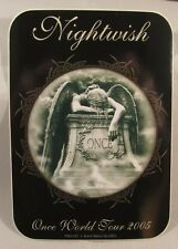 NIGHTWISH ONCE WORLD TOUR 2005 VINYL STICKER OFFICIAL LICENSED PRODUCT FINLAND