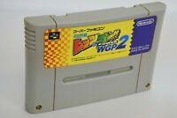 Super Famicom LET'S AND GO WGP 2 Mini 4wd Cartridge Only Nintendo Japan Game sfc