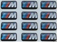 10 BMW M Power Felgen Emblem Logo Aufkleber Sticker 1 3 5 6 er M3 M5 M6 E90 F10