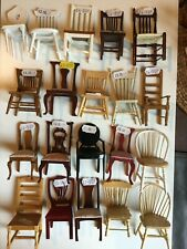 1/12th DOLLS HOUSE CHAIRS