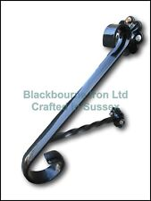 Wrought Iron Plain Jabez Grab Rail