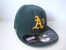 Oakland A's Athletics Hat Green 7 1/2 59.6cm Fitted New Era MLB Baseball Cap