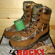 11.5 M mens ROCKY BROADHEAD RKS0269 Hunting Boots Waterproof Insulated 1000 gram
