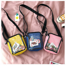 Fashion Cross body Transparent handbag ita Bag Kawaii Itabag Dango Badge Show