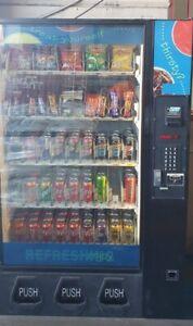 Dixie Narco - Combo Vending Machine