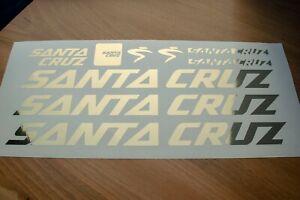 Santa Cruz Cycling Decal Sticker